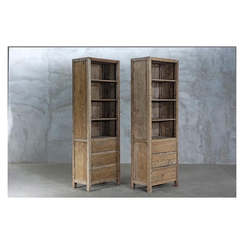Meuble Bibliotheque Grande Hauteur Maison Design