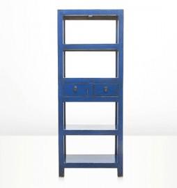 Etagère Virgo bleu indigo