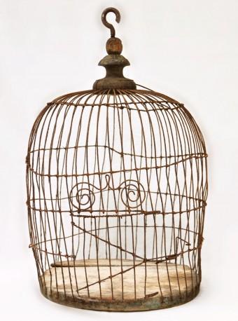 Petite cage à oiseaux