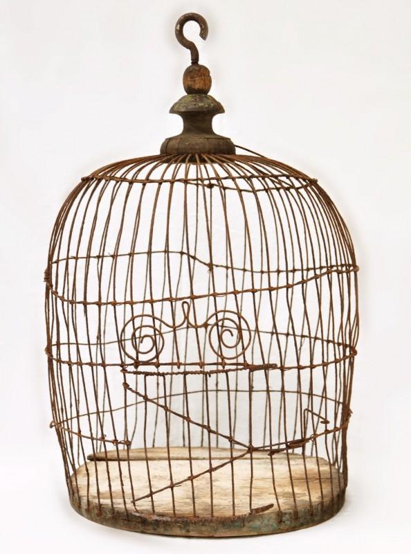cage oiseaux vintage cage d co oiseaux cage lumiere. Black Bedroom Furniture Sets. Home Design Ideas
