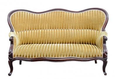 Canapé Causeuse, 1880 - VENDUE