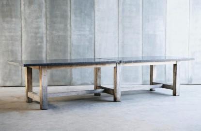 Table de Ferme Pierre Bleue Sur Mesure