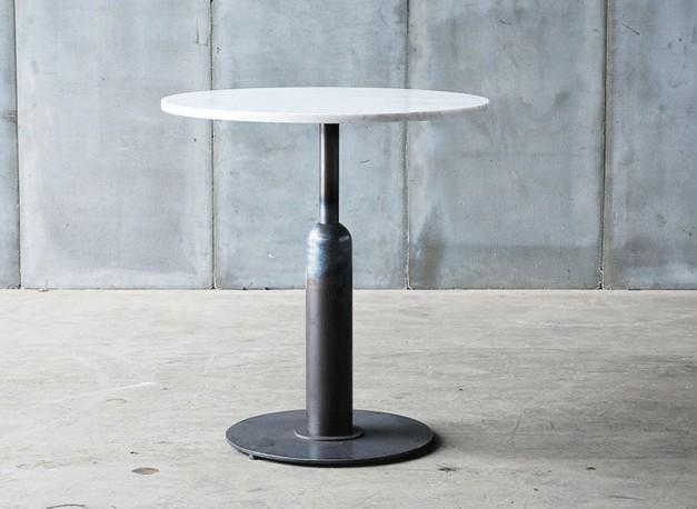 Table-Guéridon Piston  marbre