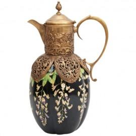 Ceramic Jug, Wisteria - H 36cm