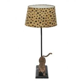 Pied de lampe Léopard - droite
