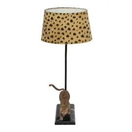 Pied de lampe Léopard - gauche