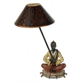 Pied de lampe en tailleur - droite