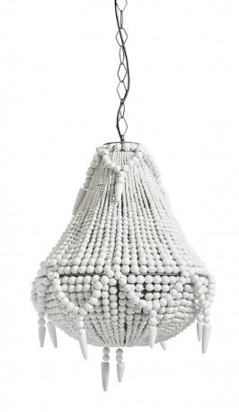 Grand lustre Pearls blanc