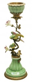 Colorful Birds Candlestick