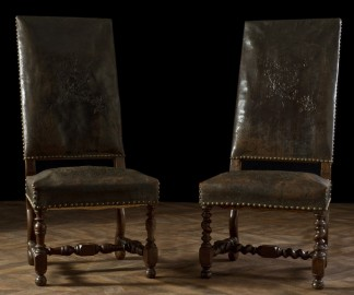 Louis XIII armchairs