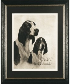 Dogs Engravings - Set of 4