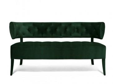 Audrey Sofa - Green velvet
