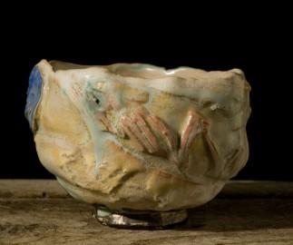 Bol en céramique, artisanat contemporain