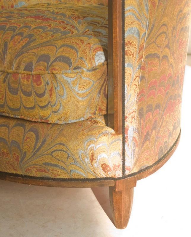 Art deco armchair 1920 armchair reading armchchair for Aashiyana indian cuisine reading pa