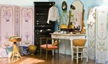 Une flèche en plein Coeur : une chambre style brocante bohème-chic