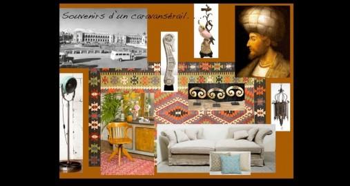 Souvenirs d'un caravansérail: décoration bohême chic, gypsy