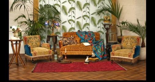 Moujik : décoration d'intérieur orientaliste