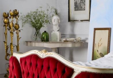 La Chambre Margot : une chambre déco rétro poétique