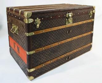 Louis Vuitton Damier Trunk, 1889