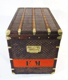 Malle Damier Louis Vuitton, 1889