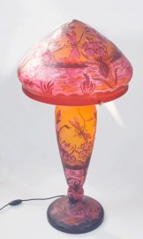 Lampe Art Nouveau Libellules