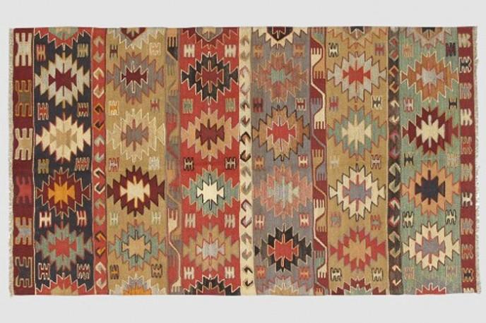 Tapis Kilim Multicolores