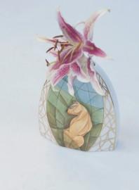 """Vase """"Lionne"""" de style Art-Déco"""