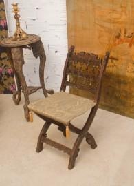 Chaise pliante Renaissance