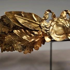Couronne de lauriers - César dorée