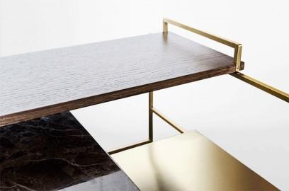 Rockefeller Coffee Table - 60 cm