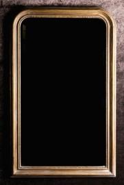 Big Mirror Napoleon III Style - old gold