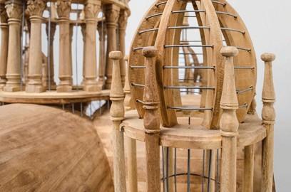 """Taj Mahal"" Bird Cage"