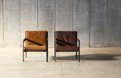 Fauteuil Andy - Cuir