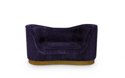 Lotus Mid Century Lounge Sofa