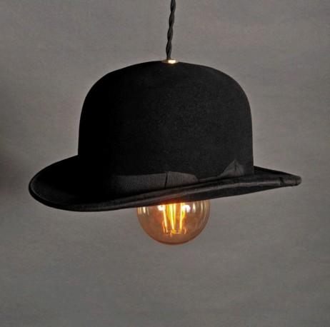 Suspension Chapeau Melon