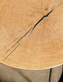 Table Basse Atole Chêne - ∅ 70 cm