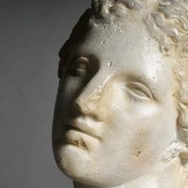 Statue Diane Chasseresse - Tête