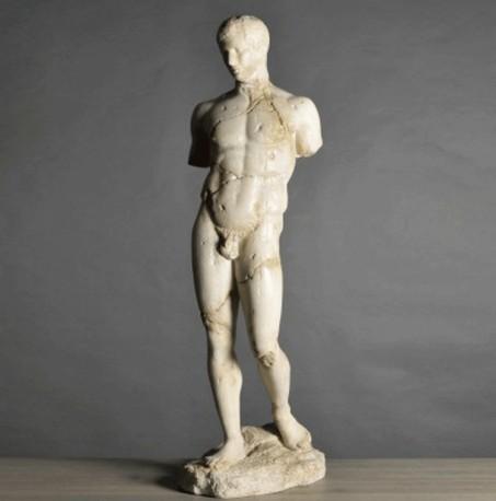 Appolon en pied - Statue