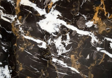 Guéridon Marble - Noir