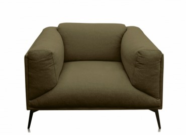 Fauteuil Roger - Lin Olive
