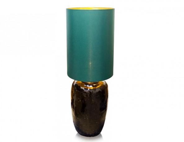 Handmade Enameled Ceramic Lamp - H130cm
