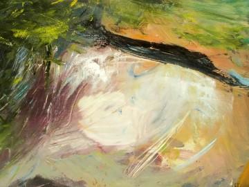 Huile Sur Toile - Brasparts - 120x120 cm