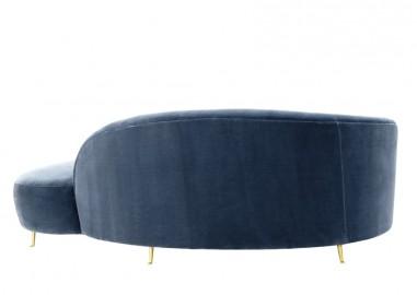 Velvet Sofa Day Bed Océan