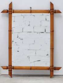 Mirror in bamboo 20's