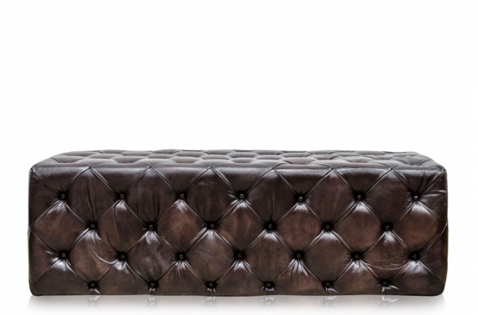 Banc repose-pieds Brumby  cuir