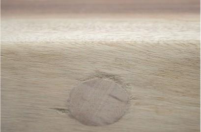 Table salle à manger bois brut et métal 350cm