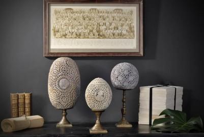 Eggs Showcase - Napoleon III style