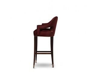 Chaise de bar Ava
