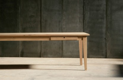 Gioia Dining Table Solid Oak - 200cm