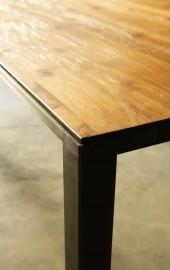Dining Table Andy Teak & Steel 250 cm